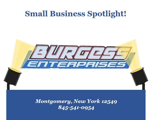 Small Business Spotlight: Burgess Enterprises