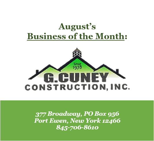 August's Business of the Month: G. Cuney Construction, Inc