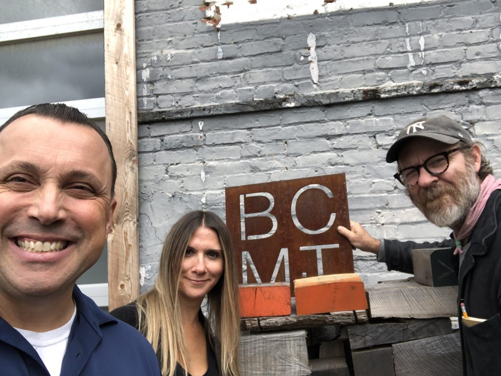 Domenic Baiocco with Josh and Kelly from Black Creek